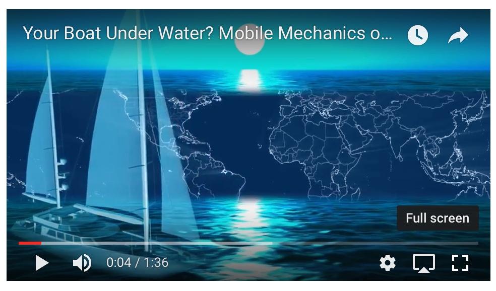 Your Boat Underwater?